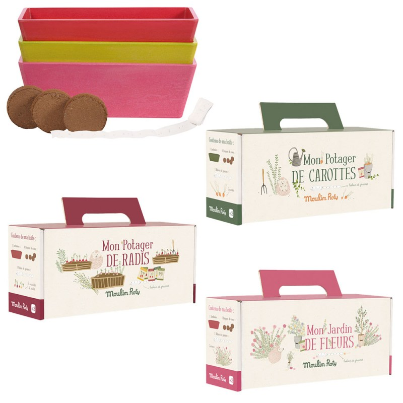 Kit Coltivazione Le jardinier Moulin Roty - Famideal