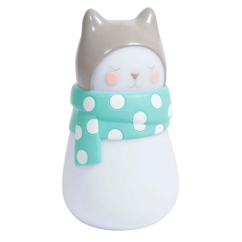 Luce Notturna Gatto Les Petits Dodos Moulin Roty - Famideal