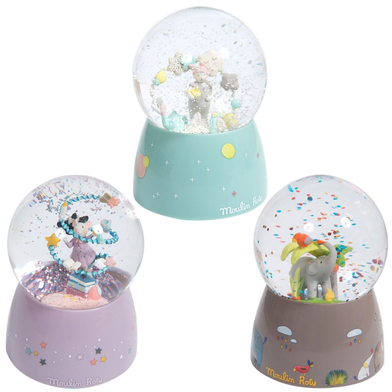 Palla di neve musicale Moulin Roty  - Famideal