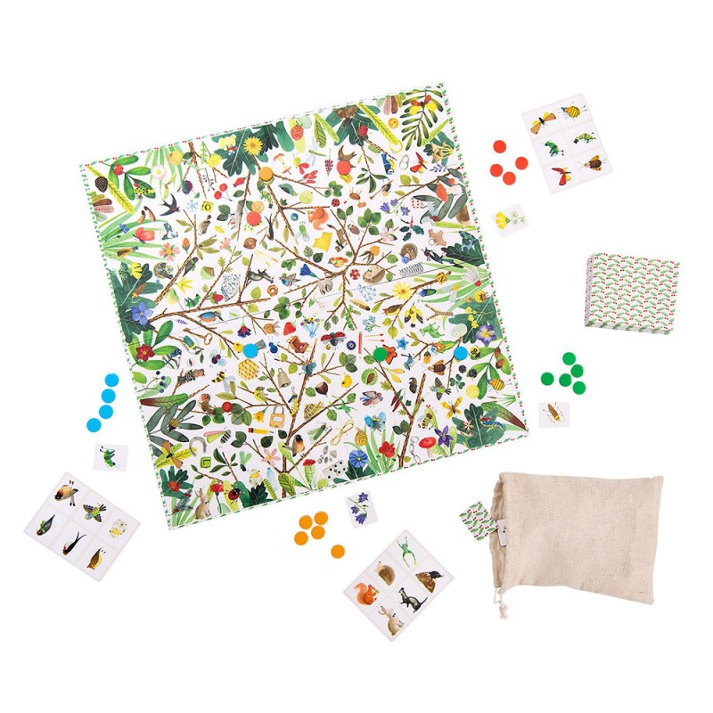 Gioco d'Osservazione Le Jardin Moulin Roty - Famideal
