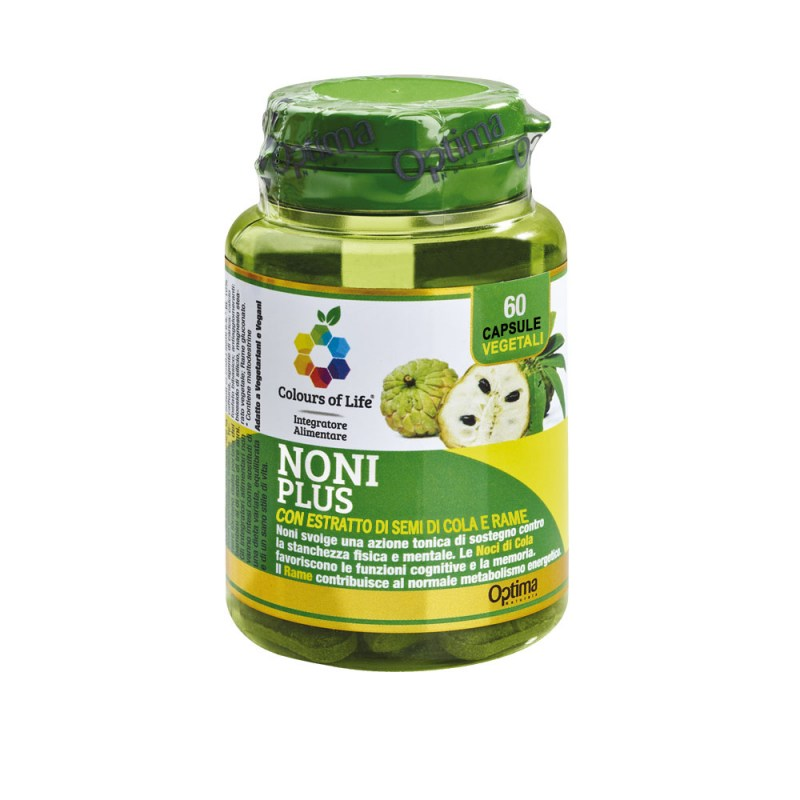 Integratore Alimentare Noni Plus Optima Naturals - Famideal
