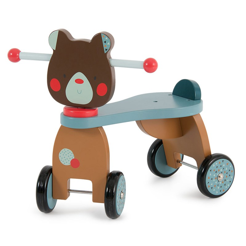 Ride-on Bear cavalcabile Les Jolis Trop Beaux - Moulin Roty - Famideal